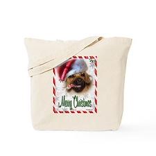 A Puggle Christmas Tote Bag