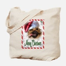 A Puggle Christmas Tote Bag