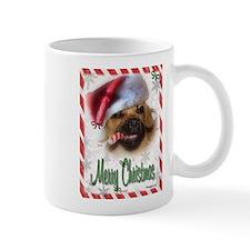 A Puggle Christmas Mug
