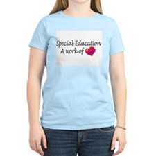 Special Education, A Work Of Love T-Shirt