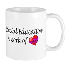Special Education, A Work Of Love Mug