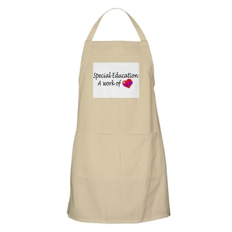 Special Education, A Work Of Love BBQ Apron
