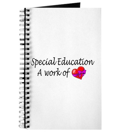 Special Education, A Work Of Love Journal