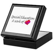 Special Education, A Work Of Love Keepsake Box