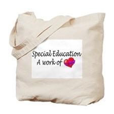 Special Education, A Work Of Love Tote Bag