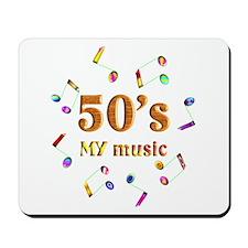 50's Music Mousepad