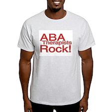 ABA Therapists Rock! T-Shirt
