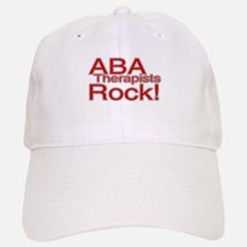 ABA Therapists Rock! Baseball Baseball Cap