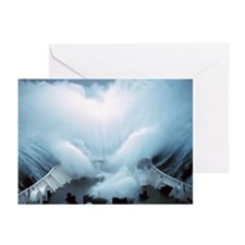 Storm on Bering Sea Greeting Cards (Pk of 10)