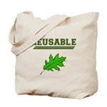Reusable Canvas Tote Bag