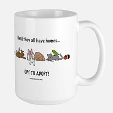 Large Mug opt to adopt
