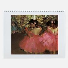 Degas Wall Calendar