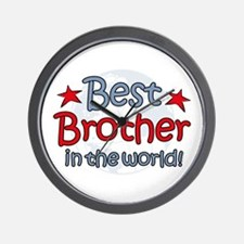 Best Brother Globe Wall Clock