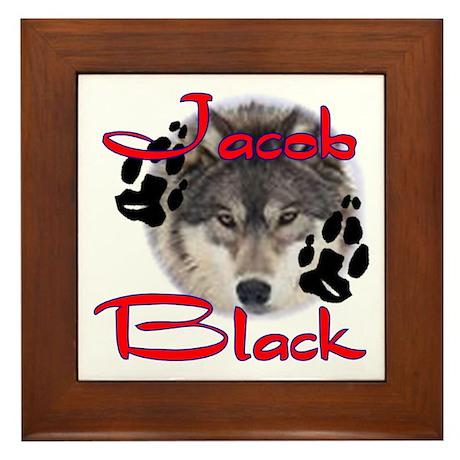 Jacob Black /2 Framed Tile
