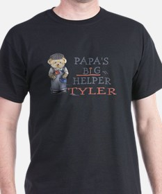 Papa's Big Helper Tyler T-Shirt