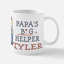 Papa's Big Helper Tyler Small Small Mug