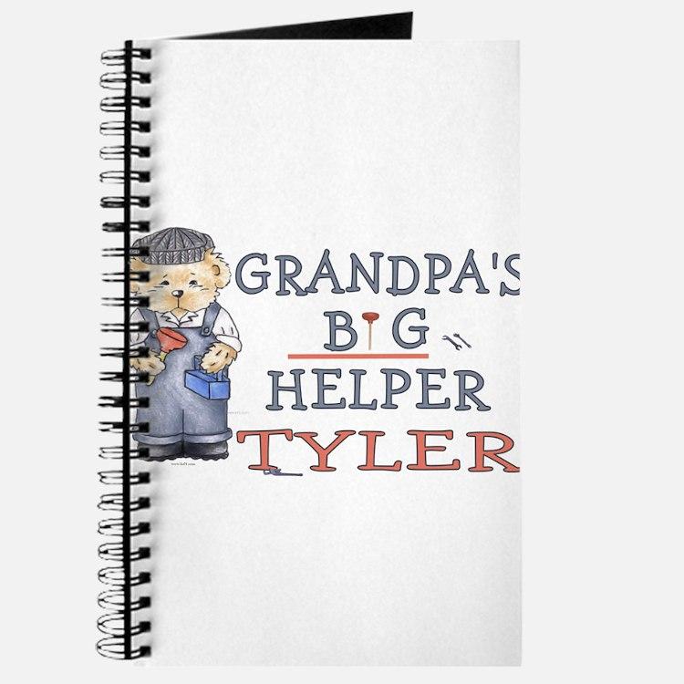 Grandpa's Big Helper Tyler Journal