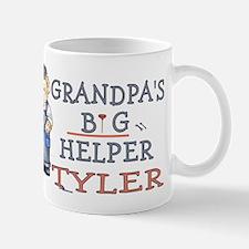 Grandpa's Big Helper Tyler Small Small Mug