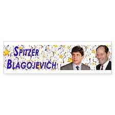 Spitzer Blagojevich Bumper Bumper Sticker