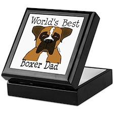 World's Best Boxer Dad Keepsake Box