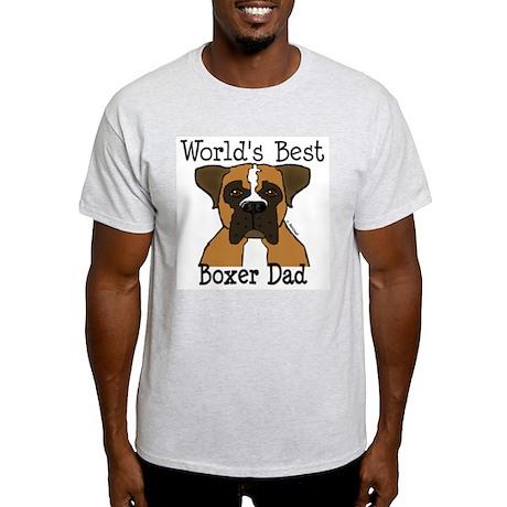 World's Best Boxer Dad Light T-Shirt