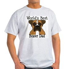 World's Best Boxer Dad T-Shirt