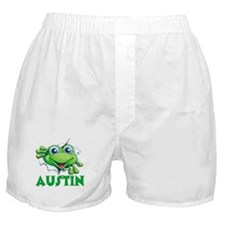 Austin Frog Tearing Out Boxer Shorts