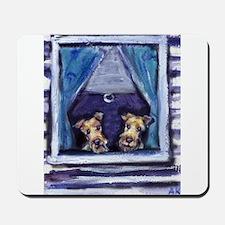 Irish Terrier Window Mousepad