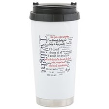 Twilight Quote Block Travel Mug