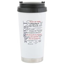 Twilight Quote Block Travel Coffee Mug