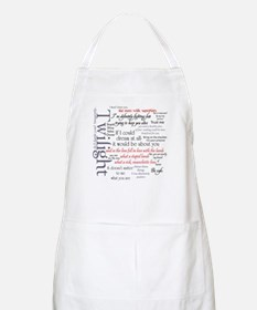 Twilight Quote Block BBQ Apron