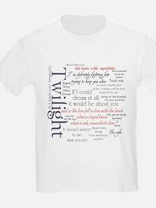 Twilight Quote Block T-Shirt