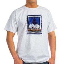 OLD ENGLISH SHEEPDOG WINDOW Ash Grey T-Shirt