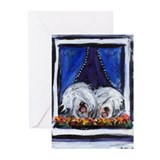 Old english sheepdog Greeting Cards (10 Pack)