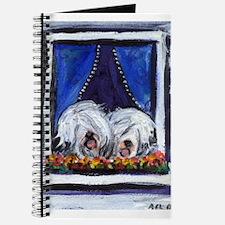 OLD ENGLISH SHEEPDOG WINDOW Journal