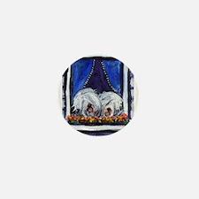 OLD ENGLISH SHEEPDOG WINDOW Mini Button
