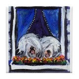 Old english sheepdog coasters Drink Coasters