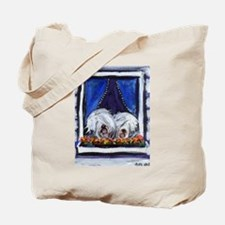 OLD ENGLISH SHEEPDOG WINDOW Tote Bag