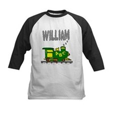 Adorable Train with William in Smoke Tee