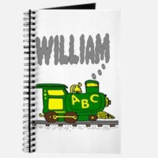 Adorable Train with William in Smoke Journal