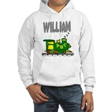 Adorable Train with William in Smoke Hoodie