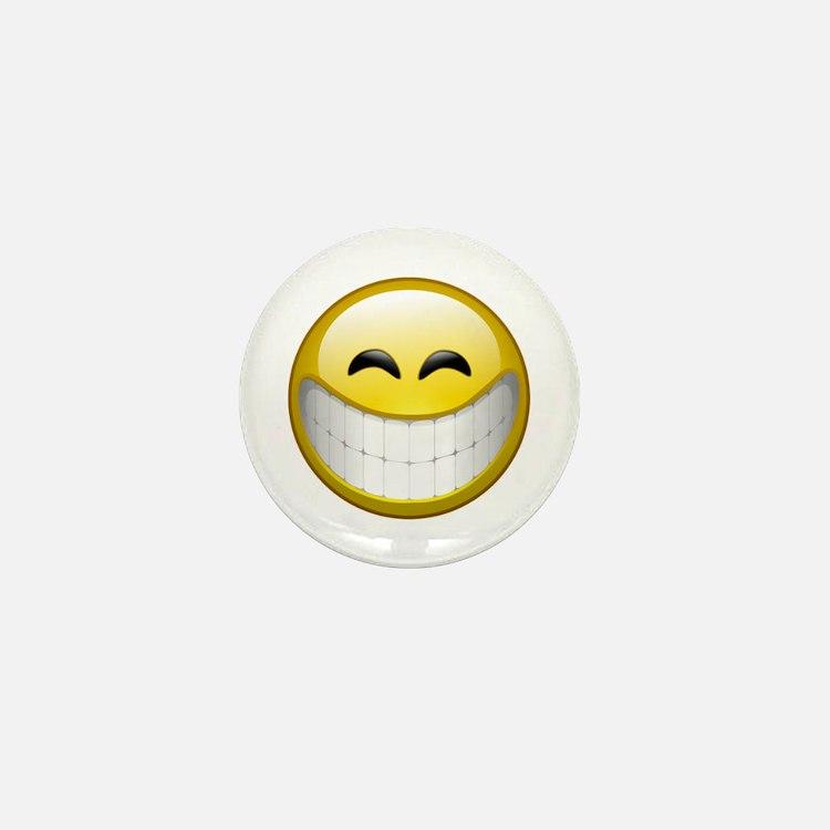 Big Smile Mini Button