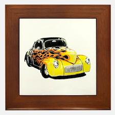 classic cars Framed Tile
