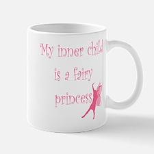 Pink Silhouette Fairy Mug