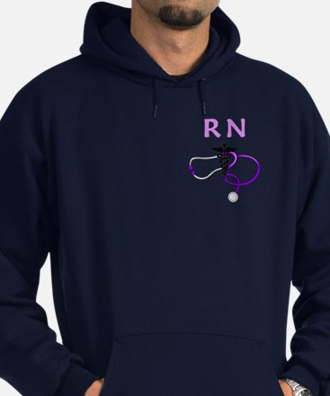 Rn Nurse Medical Hoodie (dark)