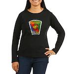 Bell-Cudahy Police Women's Long Sleeve Dark T-Shir