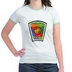 Bell-Cudahy Police Jr. Ringer T-Shirt