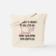 Market Pig Tote Bag