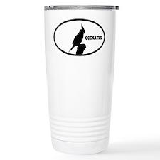 Cockatiel Ceramic Travel Mug