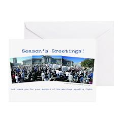 Post-8 Season's Greetings (single card)